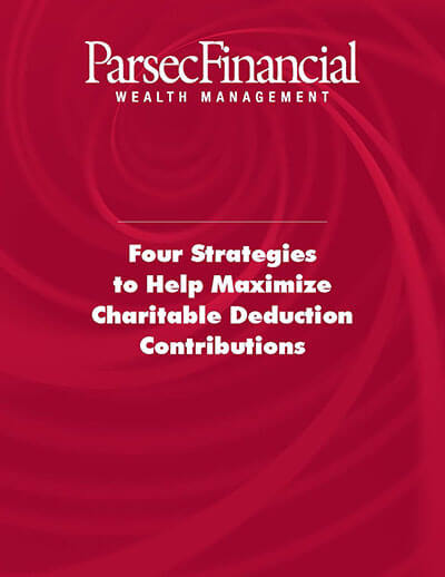 Charitable Giving Tax Strategies