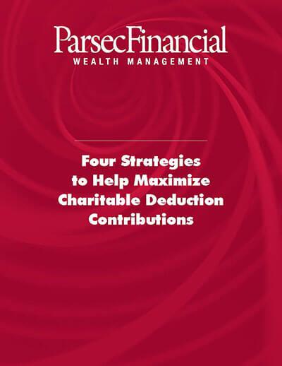 Charitable Giving Tax Strategies