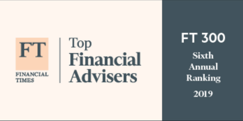 financial times top financial advisers 2019 badge